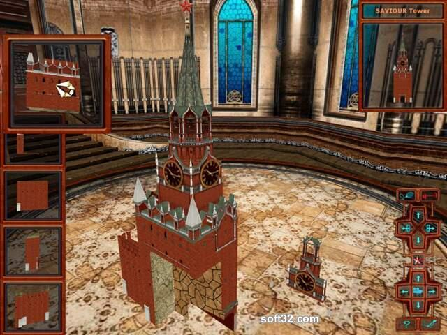 Kremlin Puzzle 3D Screenshot 2
