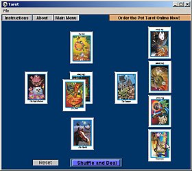 Mystic Eye Tarot Screenshot