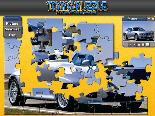 Jigs@w Puzzle Promo Creator Screenshot