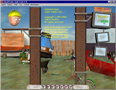 SmashTown: Junk Yard Screenshot 1