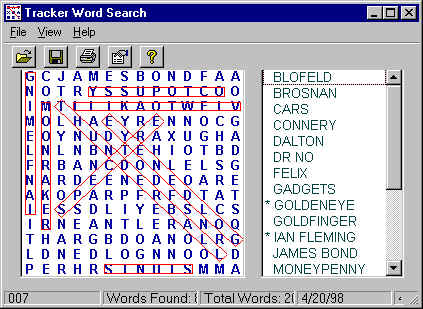 Word Search Puzzles Screenshot 1