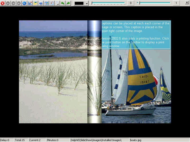 Digital Photo Slide Show & Screen Saver Screenshot 1