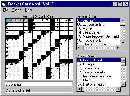 Crossword Puzzles Screenshot