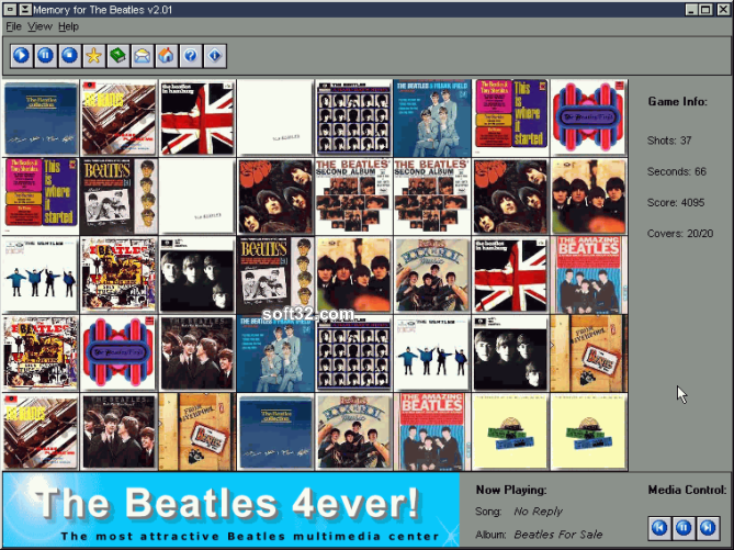 Memory for The Beatles Screenshot