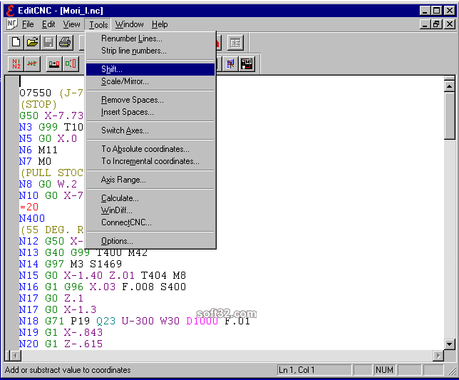 EditCNC Screenshot 3