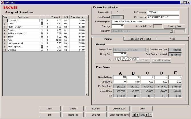 Kform Project Manager Screenshot 2