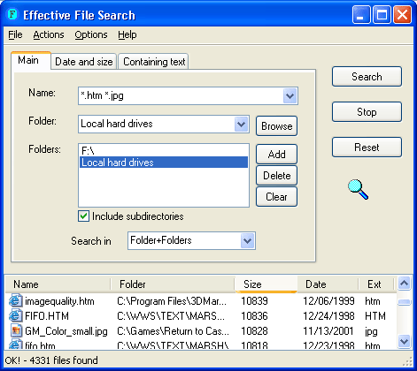 Effective File Search Screenshot 3