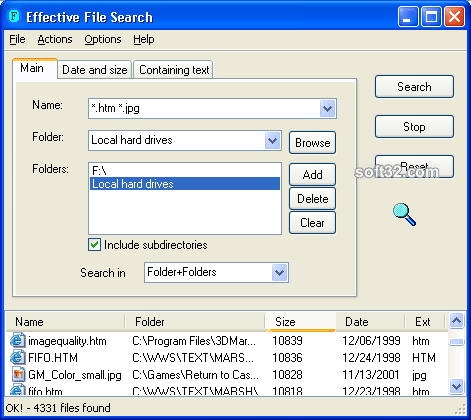 Effective File Search Screenshot 2