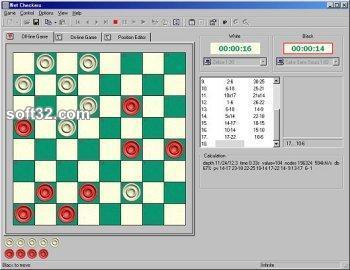 Net Checkers Screenshot 3