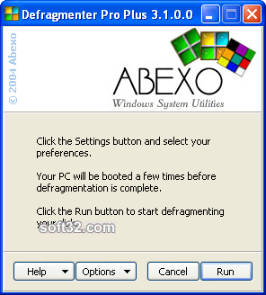 Defragmenter Pro Screenshot 1