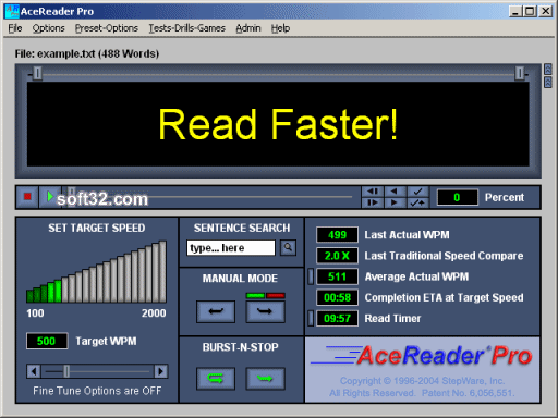 AceReader Pro Screenshot 2