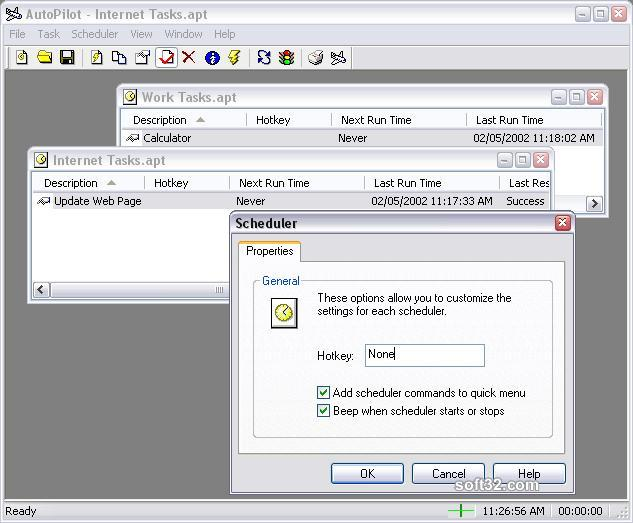 Acrasoft AutoPilot Screenshot