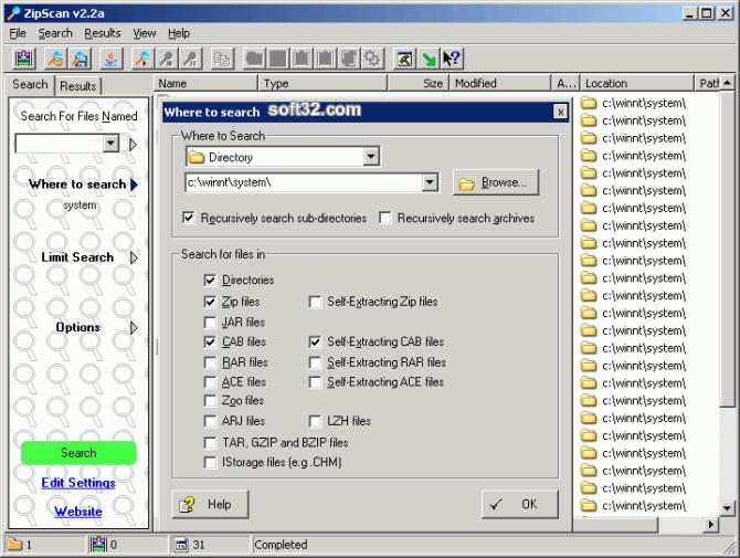 ZipScan Screenshot 3