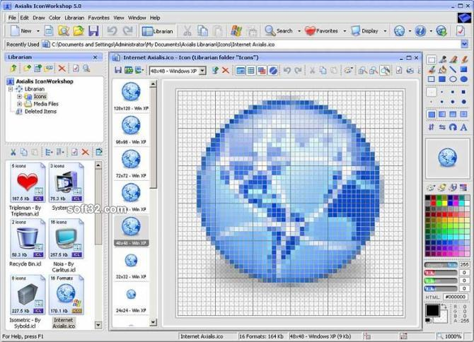 Axialis IconWorkshop Screenshot 3