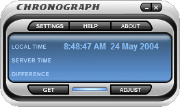 Chronograph Screenshot