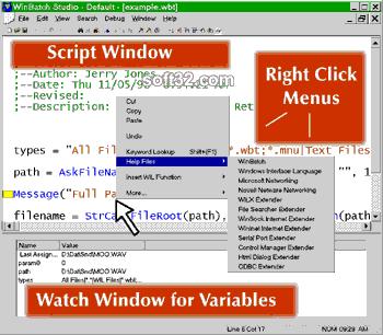 WinBatch Screenshot 2