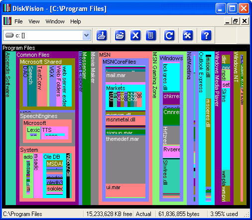 DiskVision Screenshot 1
