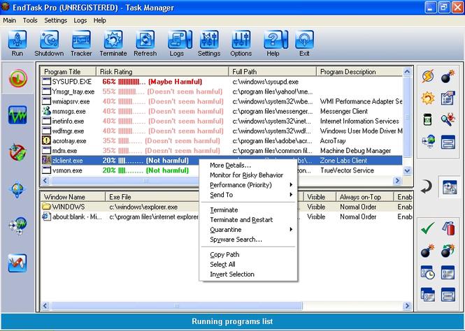 EndTask Pro Screenshot
