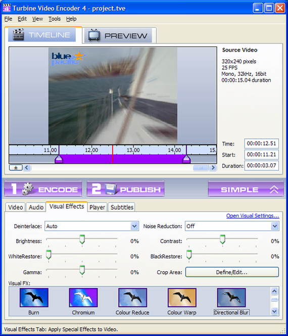 Turbine Video Encoder Screenshot