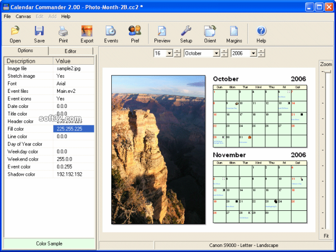 Calendar Commander Screenshot 3