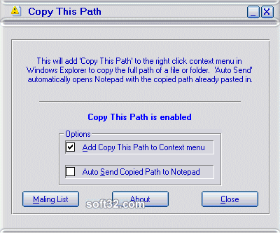 Copy This Path Screenshot 2