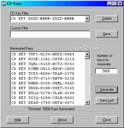 CD Keys Screenshot 3