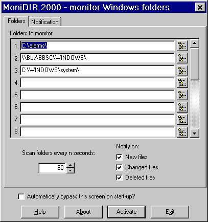 Monidir 2000 Screenshot