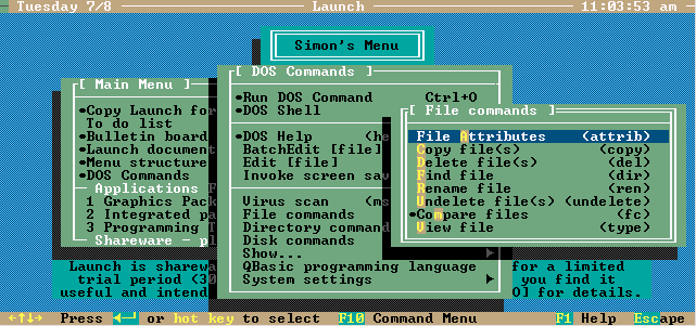 Arc Menu Screenshot