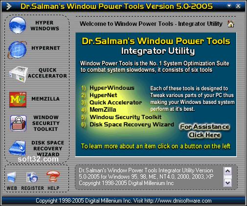 Dr.Salman's Window Power Tools Screenshot 3