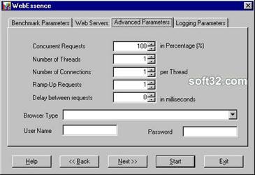 Web Essence Screenshot