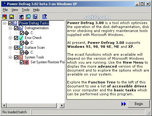 Power Defrag Screenshot 1