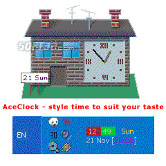 Ace Clock XP Screenshot 1