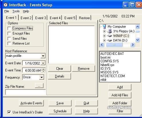 InterBack Screenshot 2