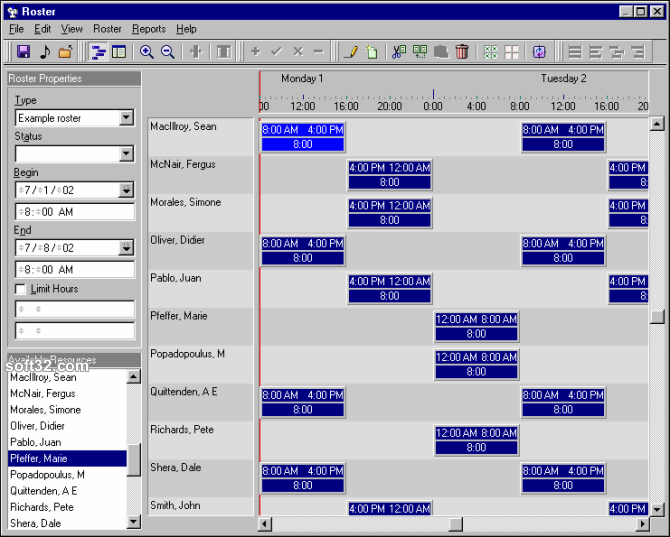 SchedulerLite Screenshot