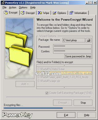 PowerKey Screenshot 2
