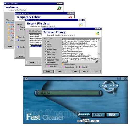 Fast Cleaner Gold Screenshot 2
