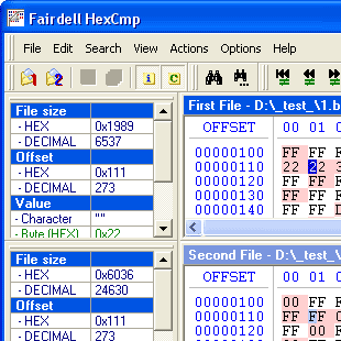 HexCmp Screenshot
