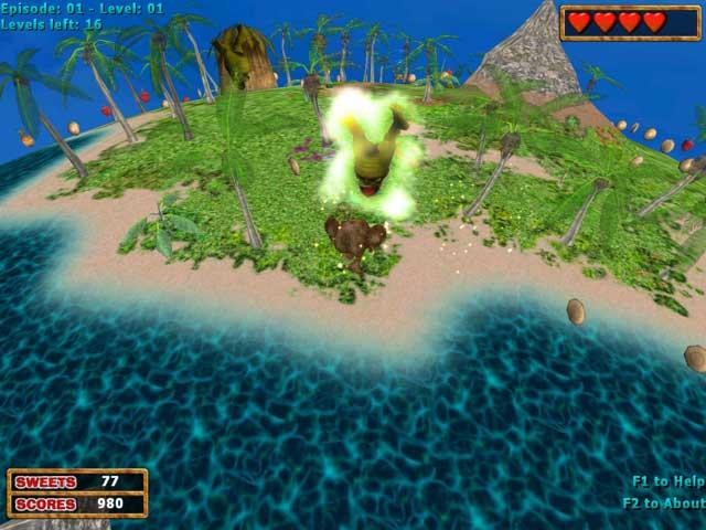 3D Pacman: Cake Fury Screenshot 2