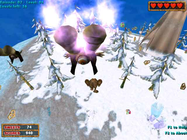 3D Pacman: Cake Fury Screenshot 3