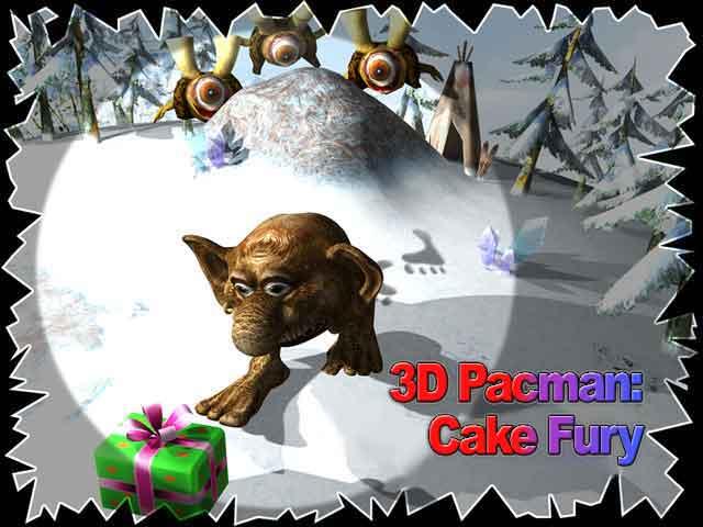 3D Pacman: Cake Fury Screenshot 4