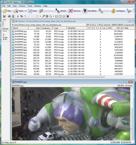 TurboZIP Express Screenshot 1