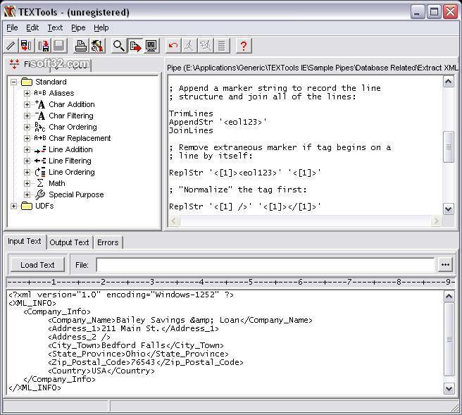 TEXTools Screenshot 2