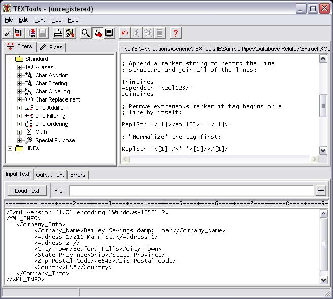 TEXTools Screenshot
