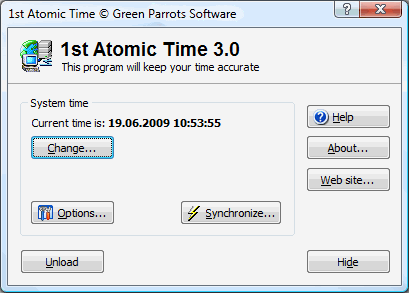 1st Atomic Time Screenshot 1