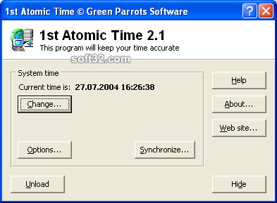 1st Atomic Time Screenshot 3