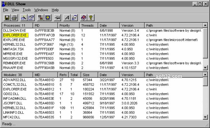 DLL Show 2000 Screenshot 2