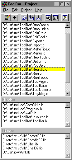 Programmer's IDE 2000 Screenshot
