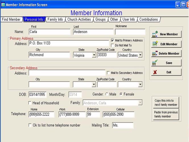 Church Office Helper Screenshot 1