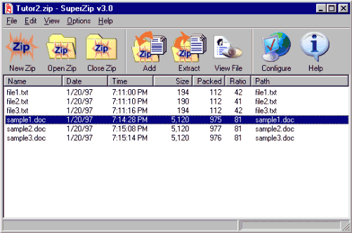 SuperZip - Zip/Unzip Utility Screenshot 1