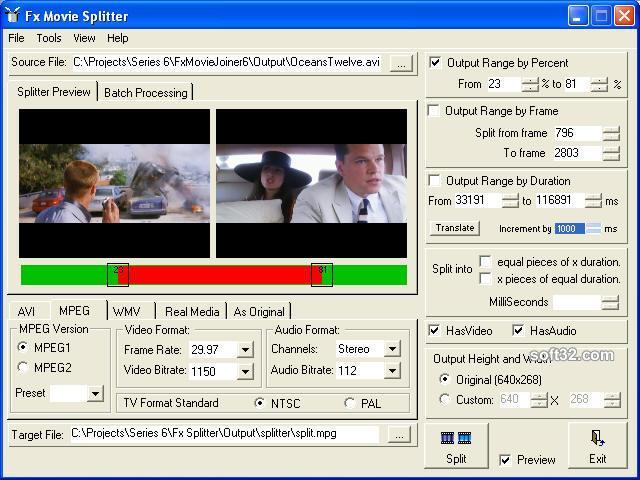 Fx Splitter and Trimmer Screenshot 2